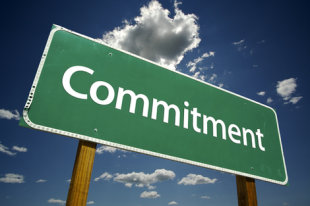 You need 100% commitment.