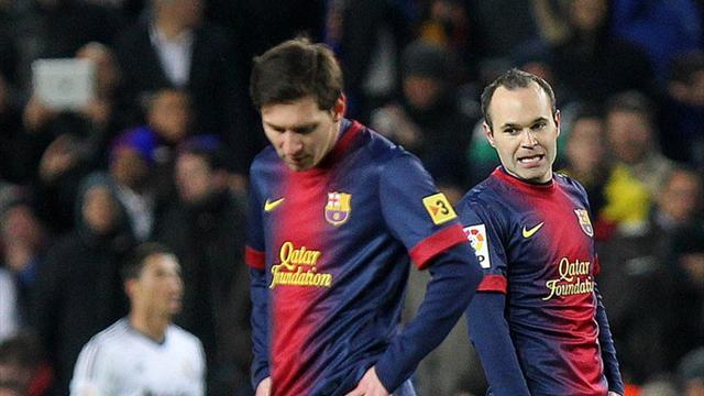 Football - Iniesta rejects Barcelona end of era talk