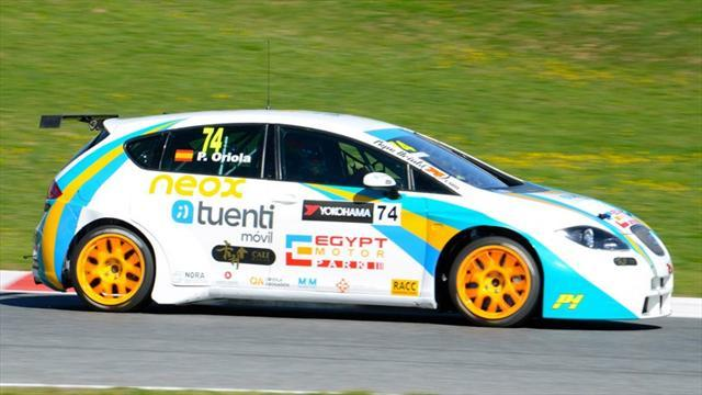 WTCC - Oriola completes first Tuenti test