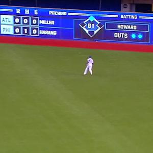 Morales' two-run double