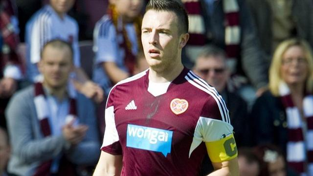 Football - Hearts not cowed by Hoops thrashing