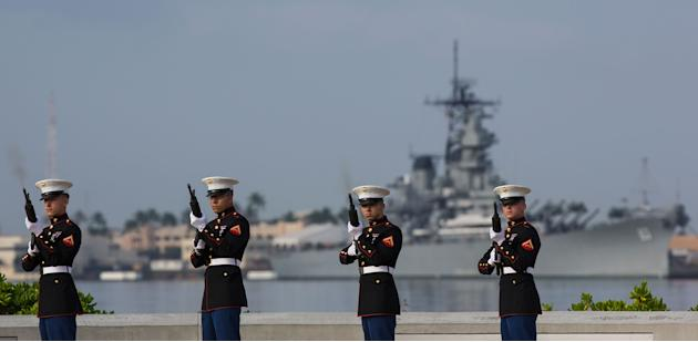 Annual Memorial Ceremony Commemorates WWII Attack On Pearl Harbor