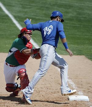 Bautista has another hit, Blue jays win