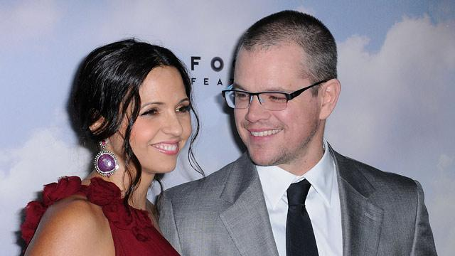 Matt Damon and Wife Luciana to Renew Their Vows