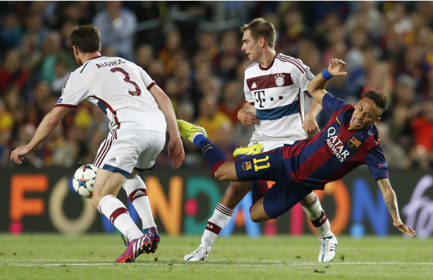 The Latest: Messi scores twice as Barcelona takes the lead