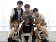 SHINee and SuJu entertains Donica Sterling