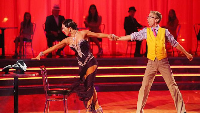 Sharna Burgess and Andy Dick (4/29/13)