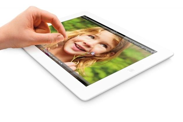 Apple relaunches the iPad 4 worldwide
