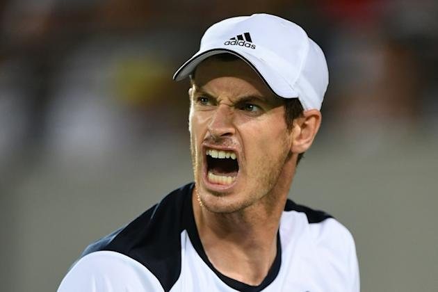 Britain's Andy Murray, pictured on August 14, 2016, says that at 29 years old, he is using his age as a motivating factor