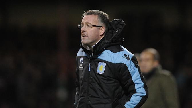 Paul Lambert, pictured, insists he does not have a problem with striker Darren Bent