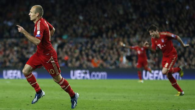 Champions League - Robben: 7-0 counts for nothing without trophy
