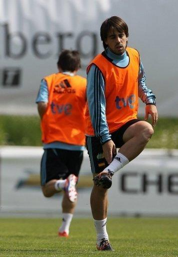 Spain's Benat Etxebarria failed to make the final squad for Euro 2012