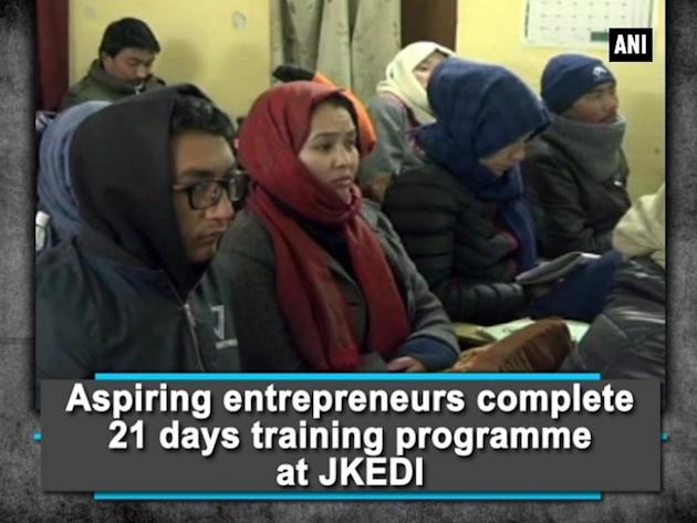 Aspiring entrepreneurs complete 21 days training programme at JKEDI