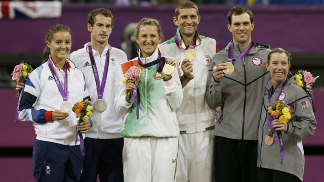 Olympic Games men - Murray and Robson Olympic doubles bid ends in silver