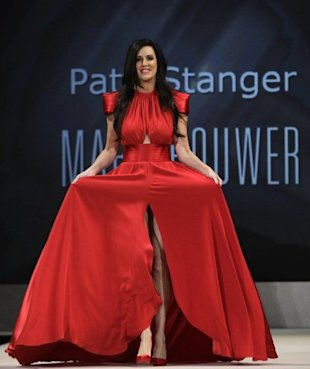 Millionaire Matchmaker Patti Stanger also walked the runway for the Heart Truth