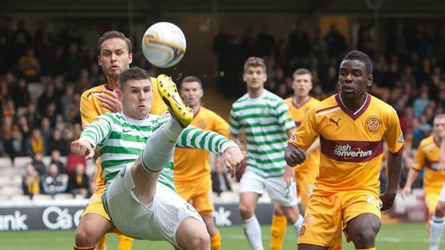Football - Angol hopes to make mark at Motherwell