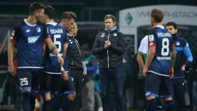 Bundesliga Review: Hoffenheim draw on Nagelsmann bow