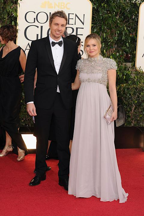 70th Annual Golden Globe Awards - Arrivals: Dax Shepard and Kristen Bell