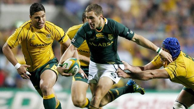 Rugby - Springbok fly-half Johan Goosen faces lengthy lay-off