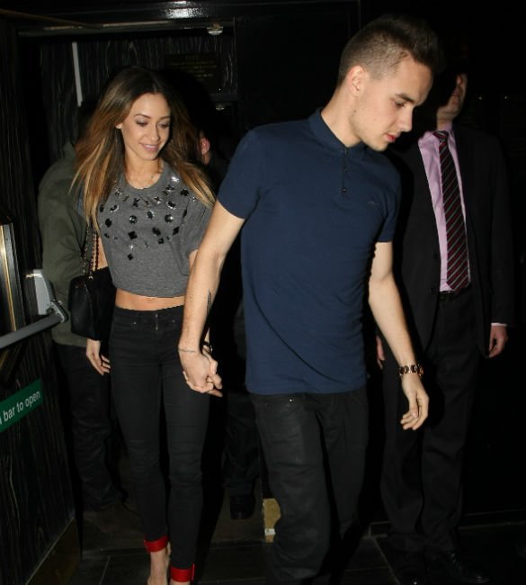 Danielle and Liam dated at the start of 1D's career. Copyright: [EW]