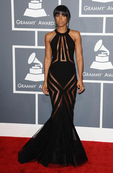 Kelly Rowland Georges Chakra SS13 Couture