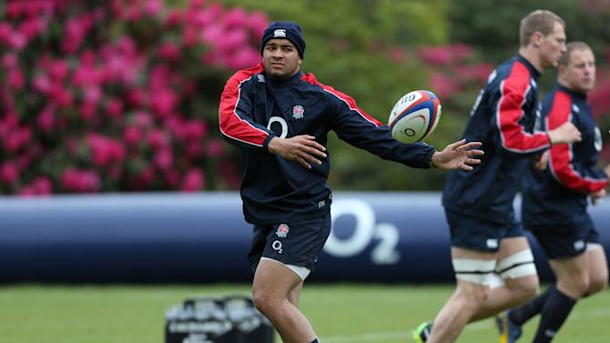 Rugby Union - England v Barbarians - England Training - Pennyhill Park