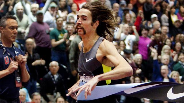 Athletics - Leer surges to Wanamaker Mile win in year's best time