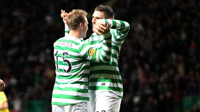 Kris Commons inspired Celtic to victory