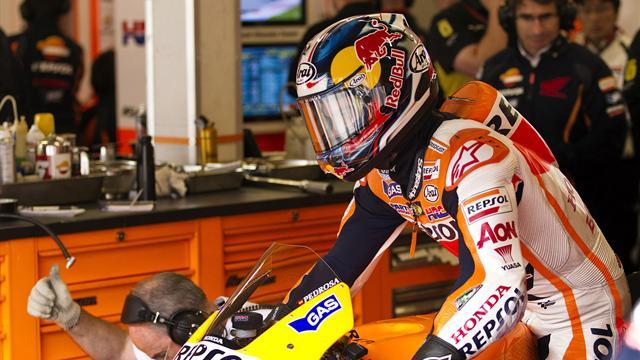 Motorcycling - Pedrosa not expecting collarbone issues