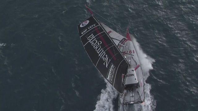 Spaniard Altadill takes 2nd in Barcelona World Race