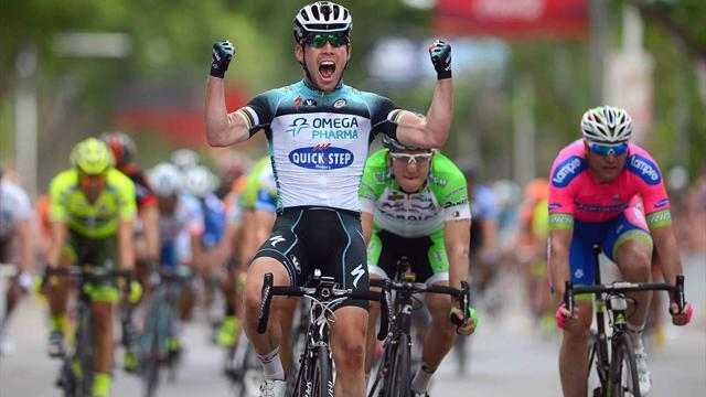 Cycling - Cavendish wins stage in Argentina for new team