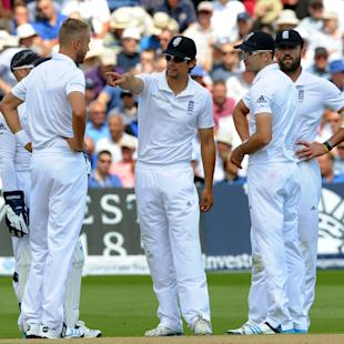 England 'frustrated' with pitch