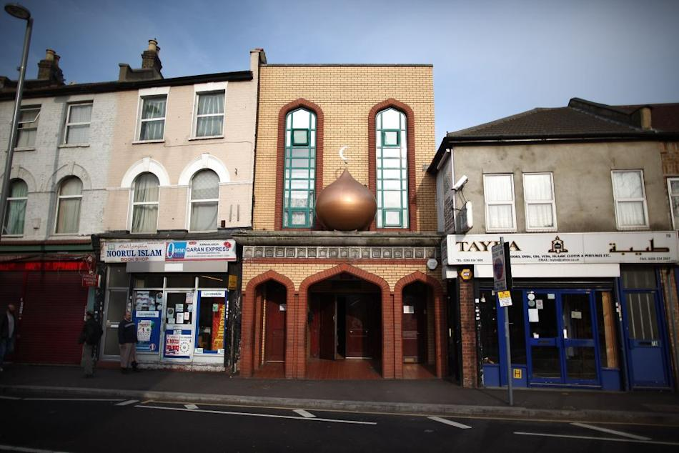 Mosque in Leyton, London, UK