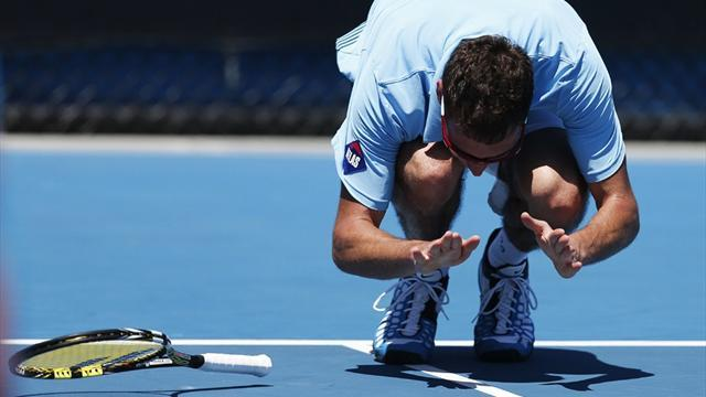 Australian Open - Janowicz throws almighty strop in Melbourne