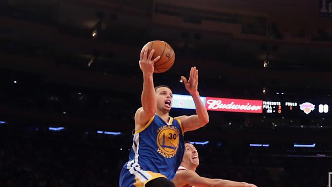Golden State Warriors v New York Knicks