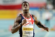 Canada's Ben Johnson on Thursday slammed critics of Britain's Dwain Chambers, pictured here in March 2012, saying the sprinter deserved his place at the London Olympics