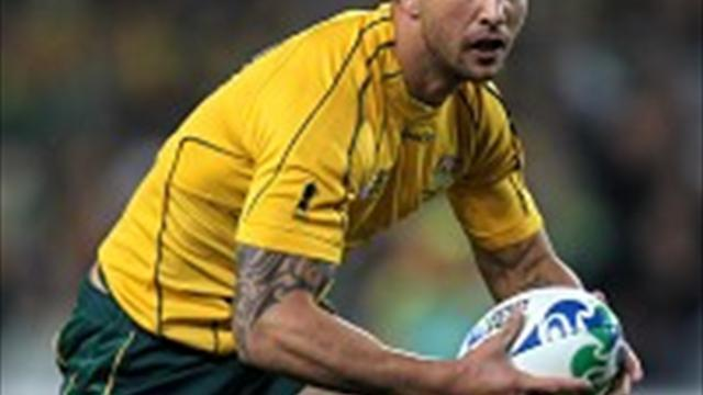 Rugby - Cooper stays with Australia