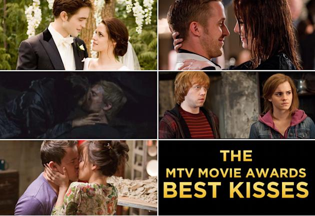 MTV Movie Awards Best Kiss Title Card