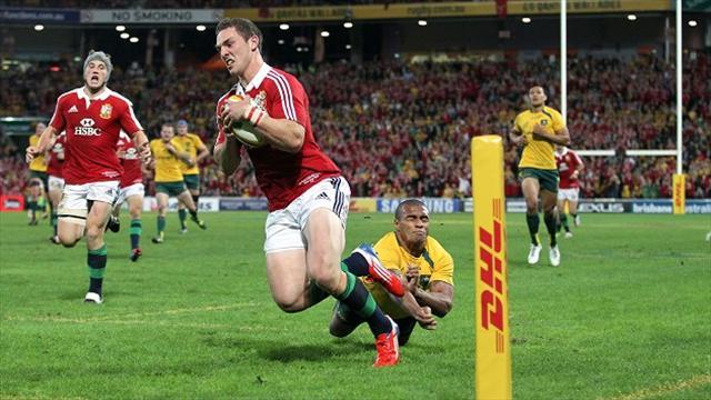 Rugby - George North sorry for 'horrendous' try celebration
