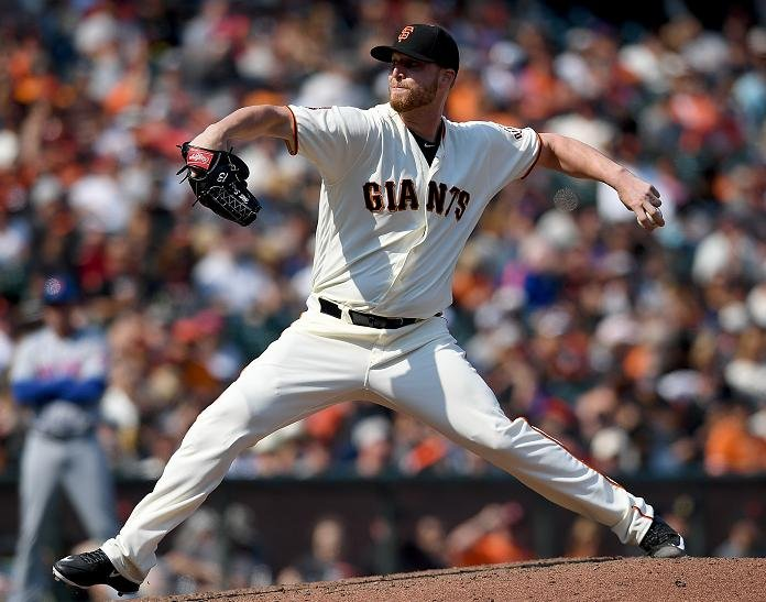 The Giants are down a key man in the bullpen with Will Smith lost for the season. (Getty Images)