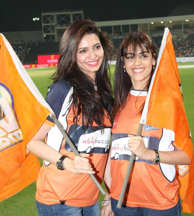 Glitz, glamour and a bit of cricket
