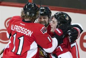 Turris, Anderson lead Sens past Panthers 4-0