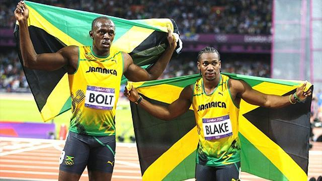 Athletics - Bolt and Blake split wildcards for Moscow