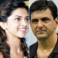 Deepika Padukone Receives A Trophy From Father Prakash Padukone
