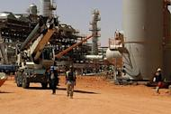 A Statoil picture released on Thursday shows vehicles parked at the In Amenas gas field. Thirty Algerian workers and 15 foreigners managed to escape on Thursday from a gas facility in Algeria where they were being held by Islamist extremists along with dozens of Westerners, national media reported