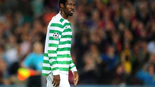 Efe Ambrose missed Celtic's best chance to score against Juventus