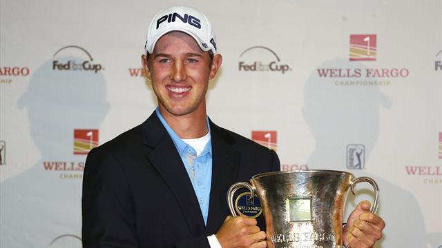 Golf - Rookie Ernst beats Lynn in Wells Fargo play-off