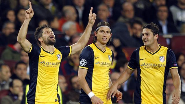 Champions League - Simeone proud of Atletico spirit against Barcelona