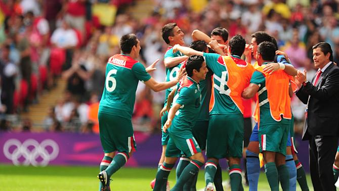 Mexico shocked Brazil to claim gold in the Olympic men's football final
