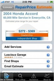 RepairPal: Top Money-Saving App